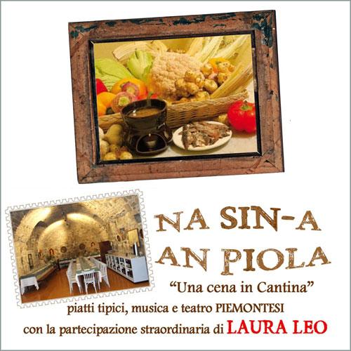 """Na sin-a an piola – """"una cena in cantina"""" piatti tipici musica e teatro piemontesi 12 marzo ore 20,15"""
