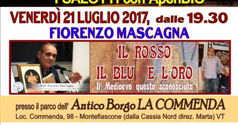 """Fiorenzo Mascagna inaugura il ciclo: """"Tramonti con l'Artista""""."""